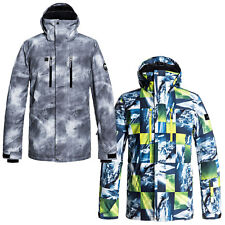 Quiksilver Mission Printed Jacket Men s Snowboard Jacket Ski Jacket Winter 24a2c2f1d3