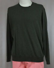 Polo Ralph Lauren Men's Olive Green Pima Cotton Pull Over Sweater Ret $115 New