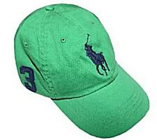 ralph lauren polo big pony youths baseball cap green hat new age 6 to 14 yrs