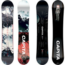 Capita Outerspace Living da Uomo Snowboard Freestyle Freeride 2018-2019 Nuovo