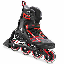 Rollerblade Macroblade 84 ABATE Inline Skate Pattini in linea a rotelle