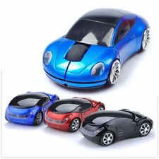 Cordless 2.4Ghz Wireless Optical Car Mouse Laptop PC Game Mice +USB Receiver ES
