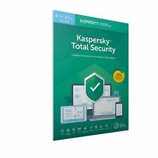 Kaspersky Total Security 2019 for 3, 5 or 10 PC / Devices 1 Year Download Key EU