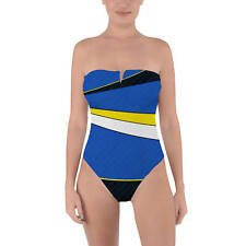 Dory Finding Nemo Disney Inspired Tie Back Strapless Swimsuit XS-3XL