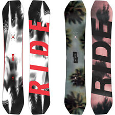 Ride Helix Hombres Snowboard Asimétrico Twin Forma All Mountain Freestyle