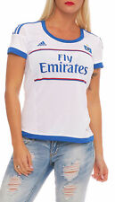 Adidas HSV Camiseta Mujer Fly Emirates Climacool Home Blanco Nuevo AC4937