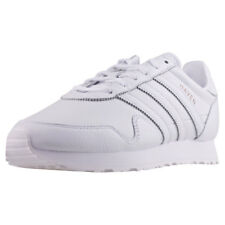 adidas Haven Mens White White Leather Trainers