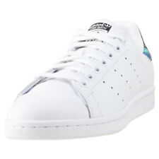 adidas Stan Smith Womens White Multicolour Leather Trainers