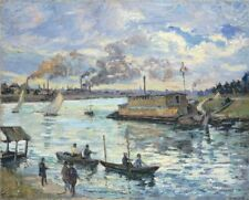 Photo Print Reproduction River Scene Armand Guillaumin Other Sizes Avail