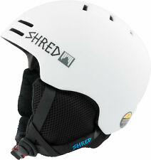 Shred Casco de Esquí Casco de Snowboard Casco Blanco Slam-Cap X-Static Slytech