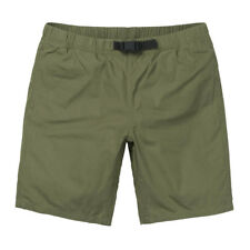 Carhartt Colton Clip Shorts 100% Cotton Rover Green Stone Washed