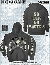 Sons Of Anarchy No Rules No Masters Soa Cruzado Pistola Samcro Segador