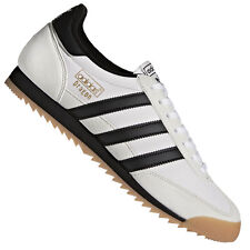 brand new 5a90e b4303 Adidas Originals Dragon Leather Shoes Sneakers Trainers Classic White Black