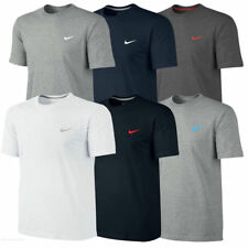 Men's Nike T-Shirt Embroidered Swoosh Tee Sports Gym Fitness Short Sleeve Top