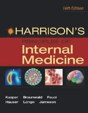 Harrison's Principles of Internal Medicine 16th Edition Volume 1 Reference Book