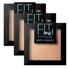 MAYBELLINE Fit me Matte + Poreless Powder 9g - CHOOSE SHADE - NEW Sealed