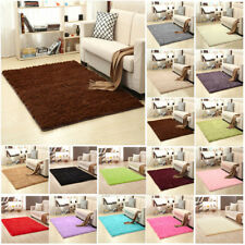 Mat Floor Shaggy Rug Living 120x200cm Carpet Fluffy Area Bedroom Anti-slip Home