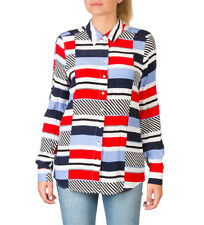 Tommy Hilfiger - Camisa Tommy Hilfiger multicolor Mujer/chica Rojo Casual