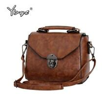 YBYT brand 2018 new vintage casual women PU leather small package female simple