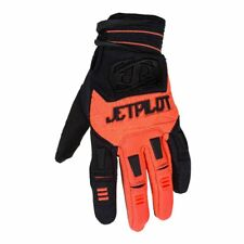 JetPilot Matrix Race Glove Full Finger Black & Orange