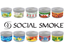 SOCIAL SMOKE SHISHA  AVAILABLE FLAVOURS AND SIZES IN 100% ORIGINAL PACK