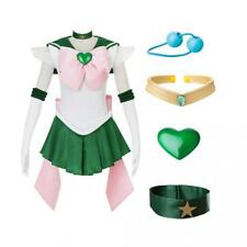 DAZCOS Kids Size Girls SuperS Jupiter Makoto Kino Cosplay Costume Sailor Dress