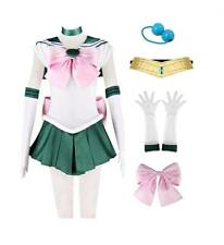 DAZCOS Adult US Size Sailor Jupiter Kino Makoto Cosplay Costume Dress