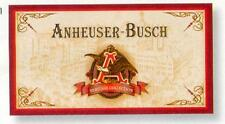 BUDWEISER BEER HERITAGE COLLECTION VINTAGE METAL SIGN TIN NEW