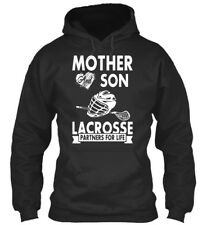 Supersoft Lacrosse - Mother And Son A Partners For Life Standard College Hoodie