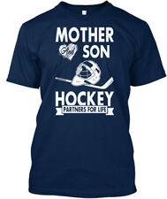 One-of-a-kind Hockey - Mother And Son Partners For Life Standard Unisex T-shirt