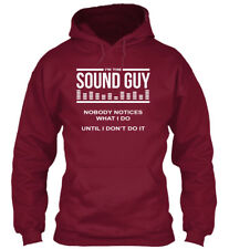 Im The Sound Guy Music Og - I'm Nobody Notices What I Do Standard College Hoodie