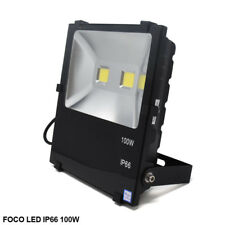 Foco Proyector LED con Chip LED COB 100W, exterior interior IP66, 6500°K LED26