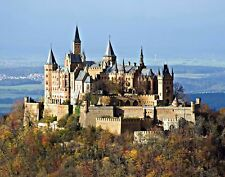 Hohenzollern Castle on Swabian Alb Giclee Photo Art Print Reproduction on Canvas
