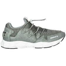 PLEIN SPORT CHAUSSURES BASKETS SNEAKERS HOMME NEUF STEALTH-XY GRIS 647