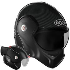 Roof Boxxer Carbon Gloss Black Motorcycle Helmet