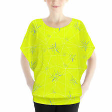 Joy Inside Out Disney Inspired Batwing Chiffon Top