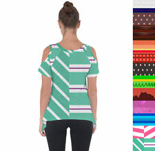 Sugar Rush Racers Wreck It Ralph Inspired Cold Shoulder Tunic Top