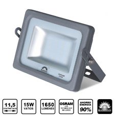 Foco Proyector LED SuperSlim 15W Exterior Jardin Patio Impermeable IP65 led26