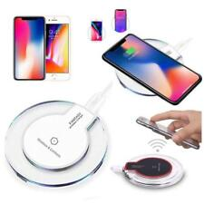 New QI Wireless Charger Charging Slim Pad Mat Dock For iPhone7 8 X,Samsung S9 S8