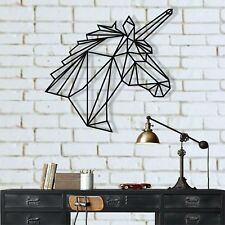 Unicorn Metal Wall Art Work Metal Wall Decor Home Living Room Bedroom Decoration