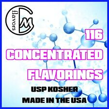 Bulk Flavor Concentrates (Fruits) - USP Kosher - Made In The USA