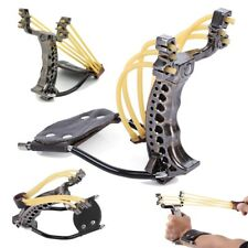 Powerful Foldable Slingshot Catapult With Wrist Holder Sling Shot Outdoor Game