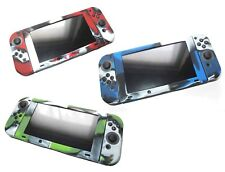 Nintendo Switch & Joy Con Controller Camouflage Silicone Protective Cover Set UK