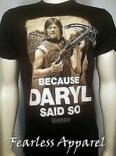 Verano '14 The Walking Dead porque Daryl Dixon Said Muy AMC Camiseta S-3Xl