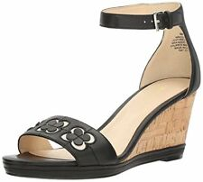 Nine West Donna Julian Zeppa di Cuoio Sandali - Select Sz / Colore