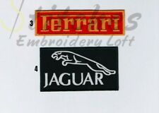 Sports Car Logo Embroidered Iron Sew on Patch Badge Good Quality