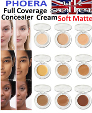 AUTHENTIC PHOERA Full Super Coverage Concealer Cream Soft Matte Longlasting UK