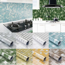 Kitchen Waterproof Oil Proof Stickers Aluminum Foil Adhesive Wall Sticker useful