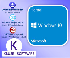Windows 10 Home/ Windows 10 Professional, 32&64 Bits, OEM, Lizenz per Email