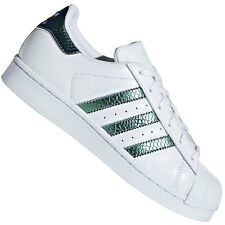 Adidas Originals Superstar Junior Bambino Scarpe Sneaker Shimmer Metallizzato